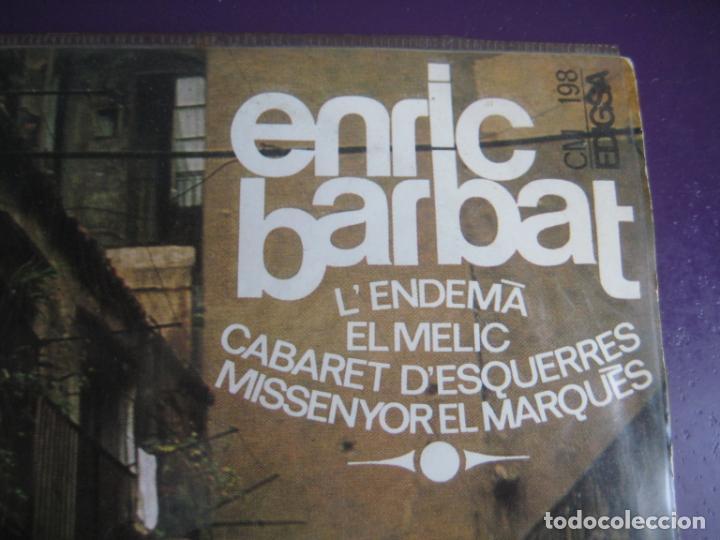 Discos de vinilo: Enric Barbat – Canta Les Seves Cançons (III) - EP EDIGSA 1967 - LENDEMA +3 - CATALUNYA FOLK CANÇO - Foto 2 - 234100150