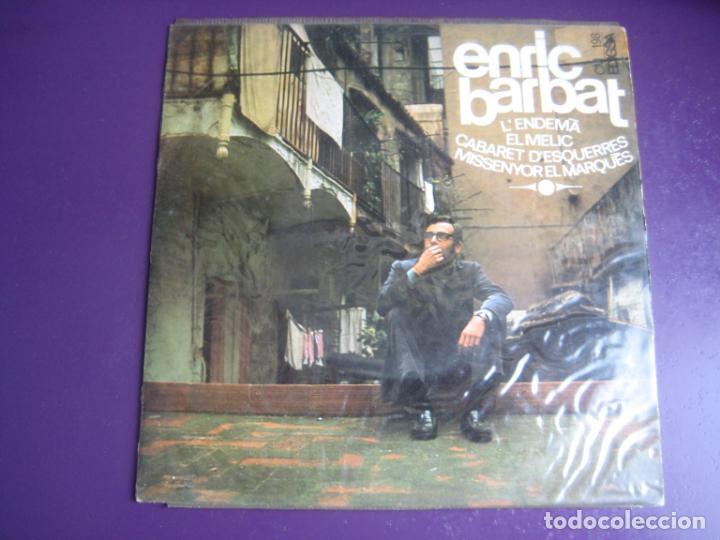 ENRIC BARBAT – CANTA LES SEVES CANÇONS (III) - EP EDIGSA 1967 - L'ENDEMA +3 - CATALUNYA FOLK CANÇO (Música - Discos de Vinilo - EPs - Cantautores Españoles)