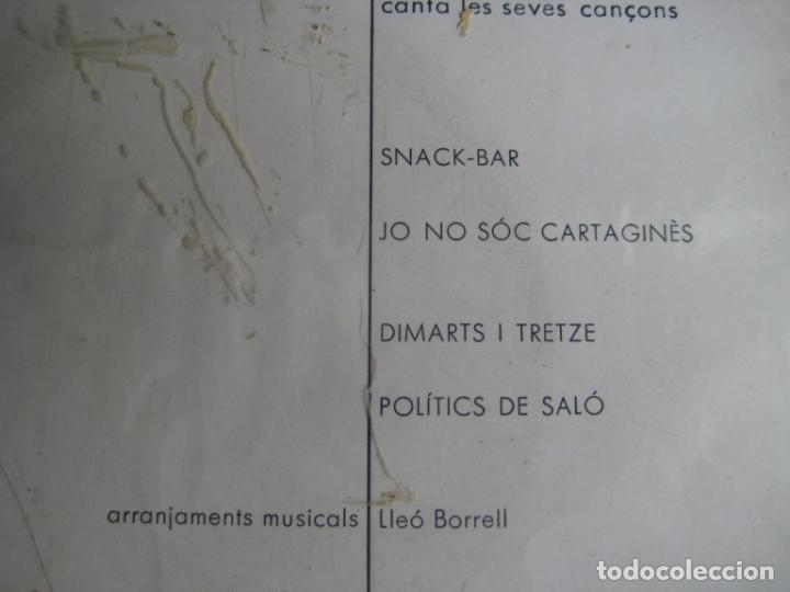 Discos de vinilo: Enric Barbat Canta Les Seves Cançons (I1) EP EDIGSA 1966 - Snack-Bar +3 - CATALUNYA FOLK CANÇO - Foto 3 - 234101050