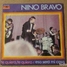 Discos de vinilo: SINGLE NINO BRAVO. Lote 234102355