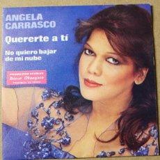 Discos de vinilo: SINGLE ANGELA CARRASCO. Lote 234102600