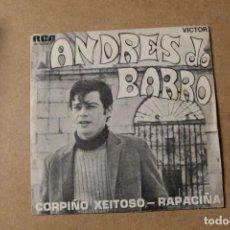 Discos de vinilo: SINGLE ANDRES DO BARRO. Lote 234102780