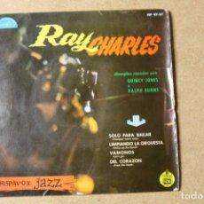 Discos de vinilo: SINGLE RAY CHARLES. Lote 234102960
