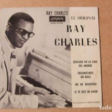 Disques de vinyle: SINGLE RAY CHARLES. Lote 234103170