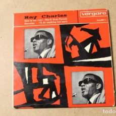 Disques de vinyle: SINGLE RAY CHARLES. Lote 234103465