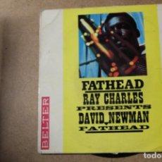 Discos de vinilo: SINGLE RAY CHARLES. Lote 234103740
