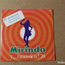 Discos de vinilo: SINGLE MIRINDA Y MUSICA. Lote 234104345