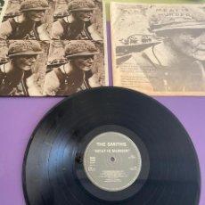 Disques de vinyle: LP.THE SMITHS - MEAT IS MURDER + ENCARTE. SPAIN.NUEVOS MEDIOS 43 123 L. AÑO 1985. MORRISEY/MARR.. Lote 234106895