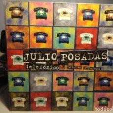 Discos de vinilo: MAXI JULIO POSADAS : TELEFONICO EP VARIACION DETERMINADA. Lote 234133005