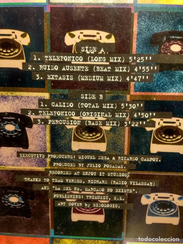 Discos de vinilo: MAXI JULIO POSADAS : TELEFONICO EP VARIACION DETERMINADA - Foto 3 - 234133005