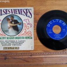 Discos de vinilo: DISCO DE VINILO DE 45RPM VALSES VIENESES DE 1968. Lote 234166325