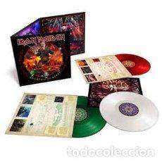 Discos de vinilo: IRON MAIDEN - NIGHTS OF THE DEAD LIVE IN MEXICO - 3 VINILOS DE COLOR - *** PRECINTADO ***. Lote 234167280