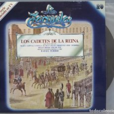 Discos de vinilo: LP. LOS CADETES DE LA REINA. LA ZARZUELA. 29. Lote 234168670