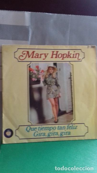 MARY HOPKIN. QUE TIEMPO TAN FELIZ..APLE DE THE BEATLES (Música - Discos - Singles Vinilo - Pop - Rock Internacional de los 50 y 60)