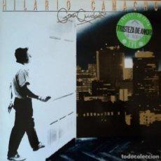 """Discos de vinilo: LP """"TRISTEZA DE AMOR"""" -HILARIO CAMACHO""""-ORIGINAL ANALÓGICO SPAIN 1986. Lote 232904570"""