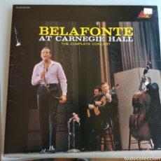 Disques de vinyle: HARRY BELAFONTE - BELAFONTE AT CARNEGIE HALL (RCA - DHY 0003, 2XLP, UK). Lote 234276410