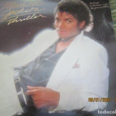 Discos de vinilo: MICHAEL JACKSON - THRILLER LP - ORIGINAL ESPAÑOL - EPIC 1982 GATEFOLD Y FUNDA INTERIOR ORIGINAL. Lote 234277615