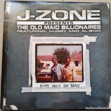 Discos de vinilo: J-ZONE PRESENTS THE OLD MAID BILLIONAIRES – PIMPS DON'T PAY TAXES. Lote 234278010