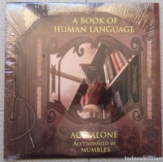 Discos de vinilo: ACEYALONE ACCOMPANIED BY MUMBLES – A BOOK OF HUMAN LANGUAGE. Lote 234278160