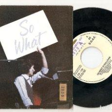 "Discos de vinilo: GILBERT O´SULLIVAN 7"" SPAIN 45 SO WHAT 1990 SINGLE VINILO PROMOCIONAL 1 SOLA CARA POP ROCK KONGA. Lote 234278335"