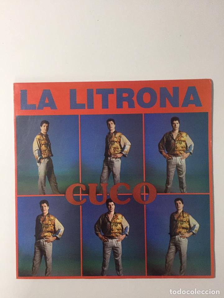MAXI CUCO - LA LITRONA + SARA (Música - Discos de Vinilo - Maxi Singles - Solistas Españoles de los 70 a la actualidad)