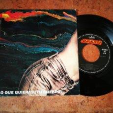 Discos de vinilo: BARRICADA HAZ LO QUE QUIERAS SINGLE VINILO PROMO 1992 EL DROGAS MISMO TEMA. Lote 234279740