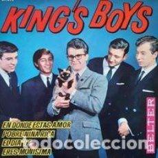 Discos de vinilo: KING'S BOYS - LLEGARÁ EL DÍA D 1964. Lote 234284445