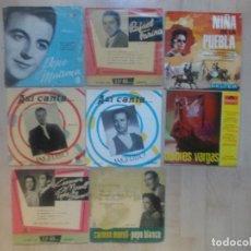 Discos de vinilo: LOTE,FLAMENCO, 8 EPS. MIRAR FOTOS. Lote 234293910