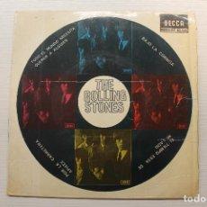 Discos de vinilo: SINGLE, THE ROLLING STONES, TODO EL MUNDO NECESITA QUERER A ALGUIEN + 3, DECCA, 1965. Lote 234300720