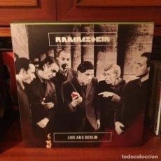 Disques de vinyle: RAMMSTEIN / LIVE AUS BERLIN / NOT ON LABEL. Lote 272934803