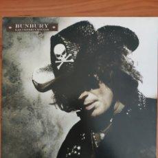 Disques de vinyle: LP BUNBURY. LAS CONSECUENCIAS. EDICIÓN 2009. Lote 234306390