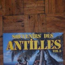 Discos de vinilo: SOUVENIRS DES ANTILLES VOL.3 LABEL: LES TRÉTEAUX – 6403, LES TRÉTEAUX – LP 6403 FORMAT: VINYL, LP,. Lote 234311505