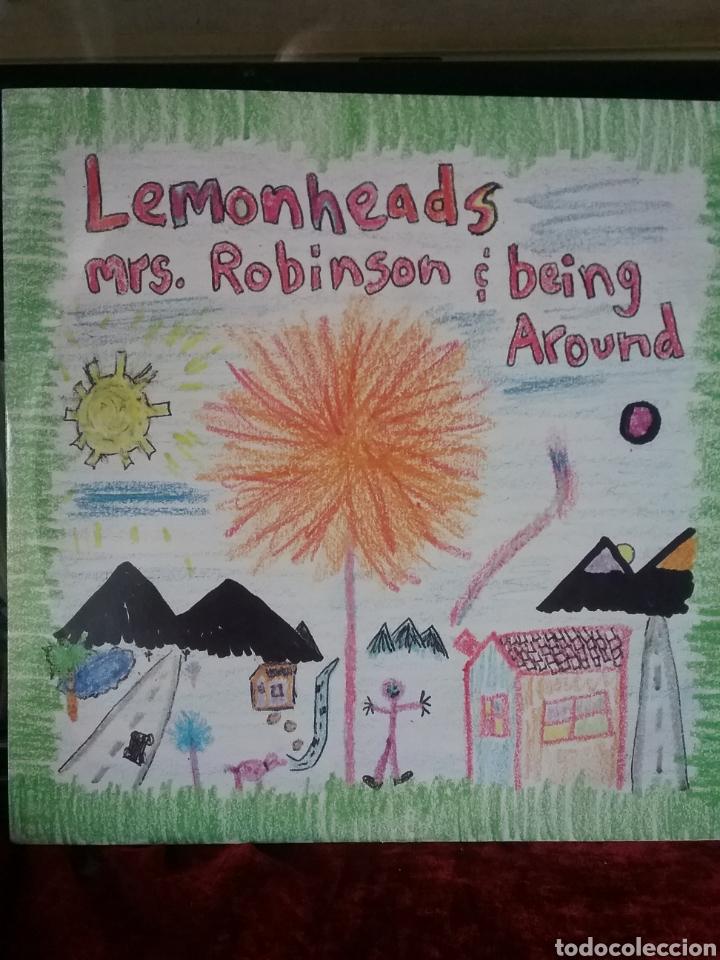 """LEMONHEADS 1992 ATLANTIC RECORDS 10"""" (Música - Discos de Vinilo - EPs - Pop - Rock Internacional de los 90 a la actualidad)"""