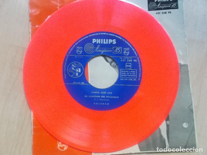 Discos de vinilo: canta,jose luis, destinos paralelos 1959 vinilo rojo - Foto 3 - 234316260