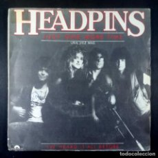 Discos de vinilo: HEADPINS - JUST ONE MORE TIME / I'VE HEARD IT ALL - SINGLE 1983 - POLYDOR. Lote 234348935