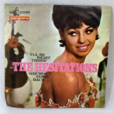 Disques de vinyle: SINGLE THE HESITATIONS - ILL BE RIGHT THERE - ESPAÑA - AÑO 1967. Lote 234349495