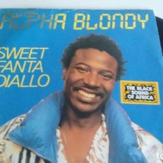 Discos de vinilo: SINGLE (VINILO) DE ALPHA BLONDY AÑOS 80. Lote 234364310