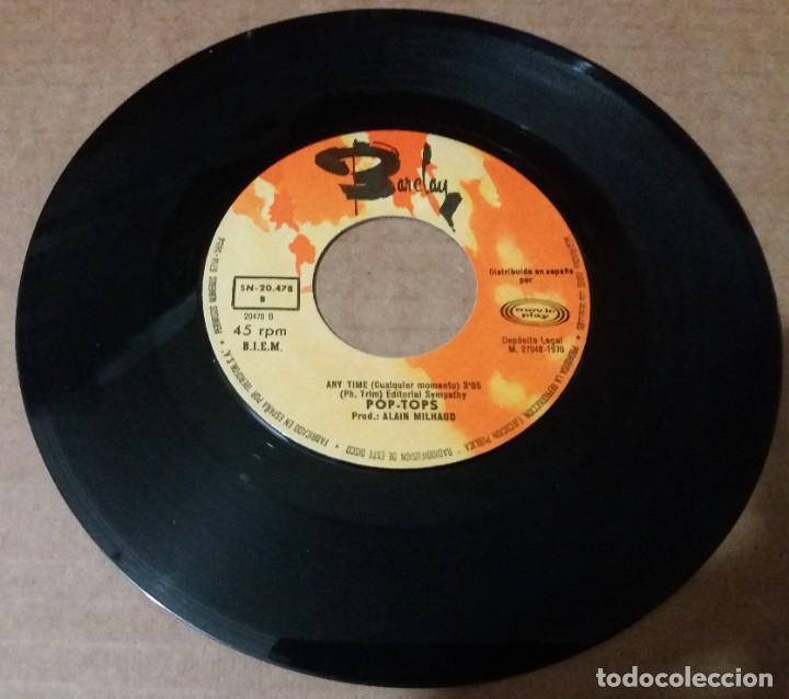 POP TOPS / SOÑAR, BAILAR Y CANTAR / SINGLE 7 INCH (Música - Discos - Singles Vinilo - Grupos Españoles de los 70 y 80)