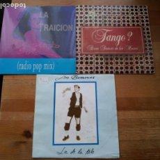 Discos de vinilo: LOTE 20 SINGLES GRUPOS ESPAÑOLES AÑOS 90 EN BUEN ESTADO - VER FOTOS. Lote 234366895