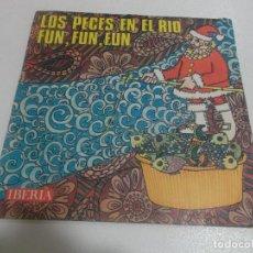 Discos de vinilo: CORO Y RONDALLA ALEGRIA - LOS PECES EN EL RIO / FUN, FUN, FUN - SINGLE 1968. Lote 234379075