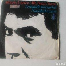 Discos de vinilo: ALBERTO CORTEZ / MR.SUCU-SUCU. LA BANDA BORRACHA / NAVIDAD NEGRA . SINGLE. TDKDS14. Lote 234385365
