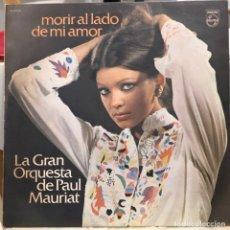 Discos de vinilo: LP ARGENTINO DE LA GRAN ORQUESTA DE PAUL MAURIAT AÑO 1977 (1). Lote 222614767