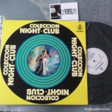 """Discos de vinilo: BEBU SILVETTI – COLECCIÓN """"NIGHT CLUB"""" LP HISPAVOX – ED 2 - COMO NUEVO. Lote 234421845"""