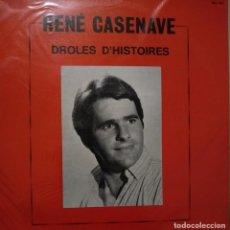 Discos de vinilo: RENE CASENAVE - DROLES D'HISTOIRES - LP. Lote 234428780