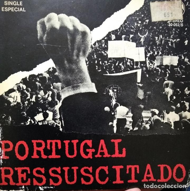 PORTUGAL RESSUSCITADO / IN MEMORIAM / CANÇAO COMBATE - TONICHA - GRUPO IN CLAVE - FERNANDO TORDO (Música - Discos de Vinilo - EPs - Cantautores Internacionales)