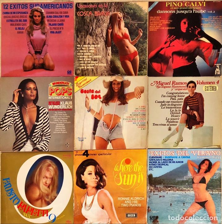 LOTE 9 LPS CHEESECAKE (Música - Discos - LP Vinilo - Orquestas)