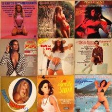 Discos de vinilo: LOTE 9 LPS CHEESECAKE. Lote 234432900