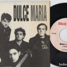 Discos de vinilo: DULCE MARIA - MALAS TIERRAS - SINGLE DE VINILO. Lote 234442050