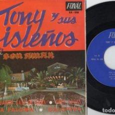 Discos de vinilo: TONY Y SUS ISLEÑOS - CUANDO SALI DE CUBA - EP DE VINILO. Lote 234447175