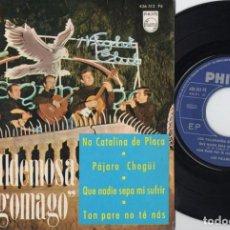 Discos de vinilo: LOS VALLDEMOSA EN TAGOMAGO - NA CATALINA DE PLAÇA - EP DE VINILO. Lote 234447900